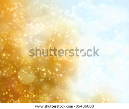 abstract autumn background with  bokeh - stock photo