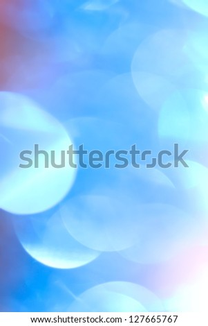 abstract background. beautiful blue bokeh - stock photo