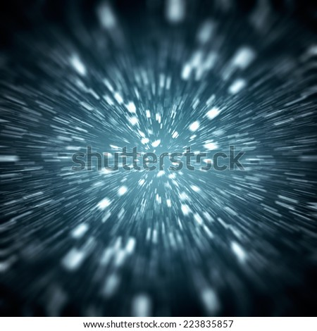 Abstract Background - Blue - stock photo