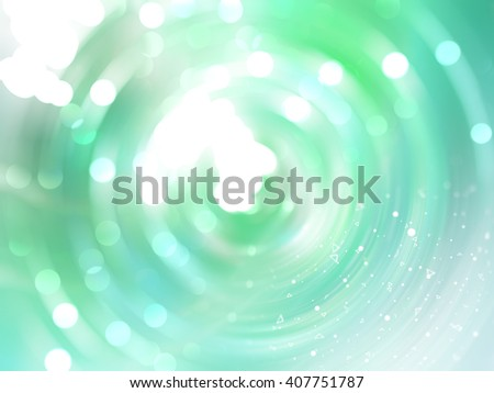 Abstract background. Brilliant green and blue circles for background - stock photo