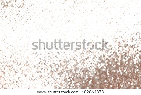 abstract background. brown mosaic - stock photo
