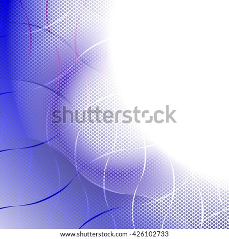 Abstract Background. Colorful Pattern. Curve Structure Texture. Raster Illustration - stock photo