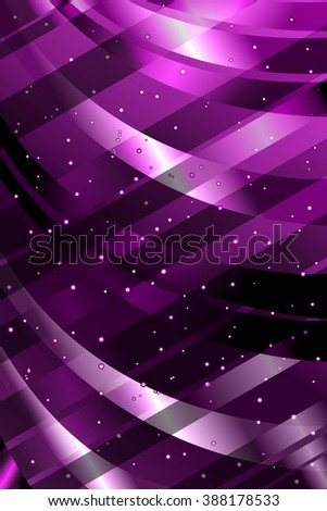 Abstract Background. Curve Pattern. Violet Structure Texture. Raster Illustration - stock photo