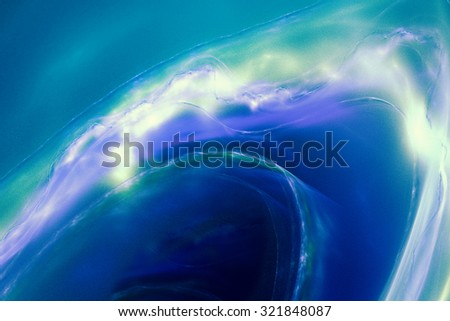 """Abstract background depicting a stylized sea wave. Driving dynamics and bright colors convey strength, emotion and expression. Very blurry textures, there is a """"grainy"""" - stock photo"""