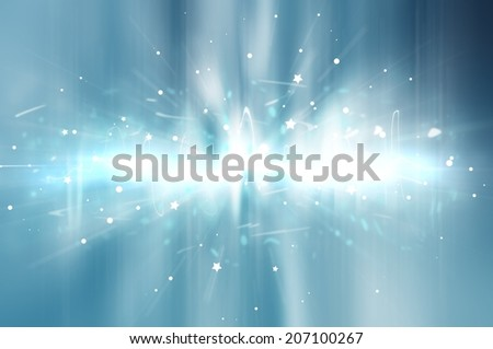 abstract background. digital blue light Equalizer background - stock photo