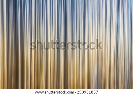 abstract background from long exposure of a waterfall closeup - stock photo