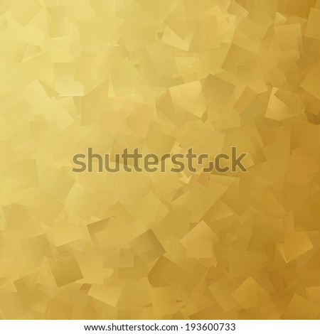 abstract background gold cubes pattern texture  - stock photo