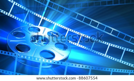 Abstract Background. Great for cinema concept. - stock photo