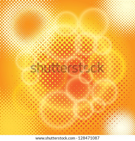 abstract background. halftone(vector version also available in my gallery) - stock photo