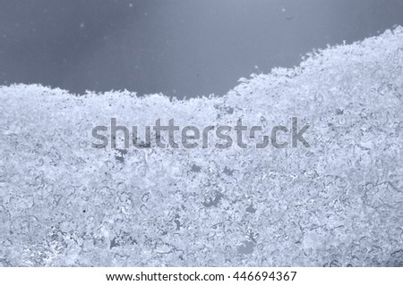 abstract background ice - stock photo