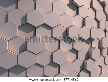 Abstract background image of grey tiles - stock photo
