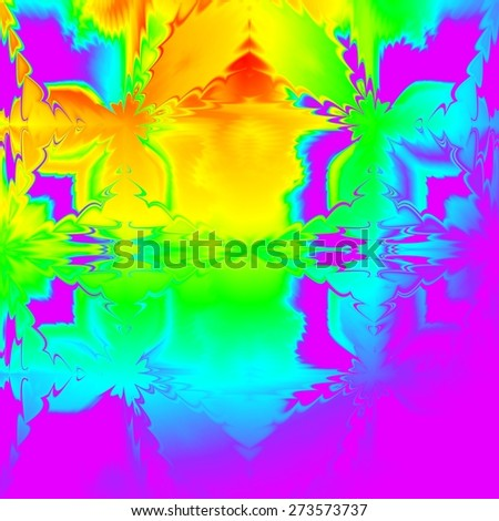 Abstract background in rainbow colors. - stock photo
