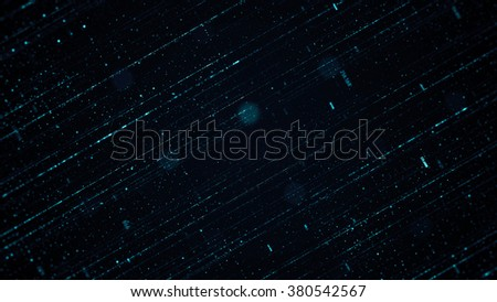Abstract background made of array of points and digits. Can be used as digital dynamic wallpaper, technology background.  - stock photo