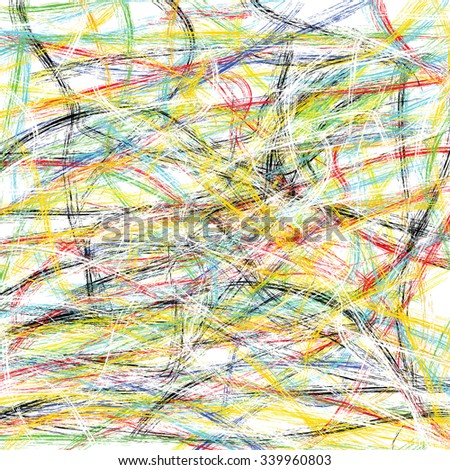 abstract background of colorful lines - stock photo