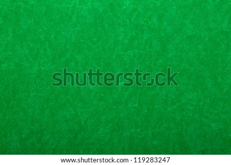 Abstract background of green felt on casino table - stock photo