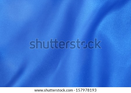 abstract background of luxury blue thai silk - stock photo