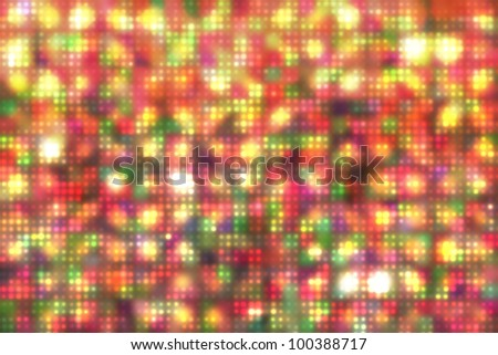 Abstract background of the colorful dots - stock photo