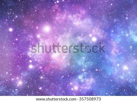 Abstract background of the universe - stock photo