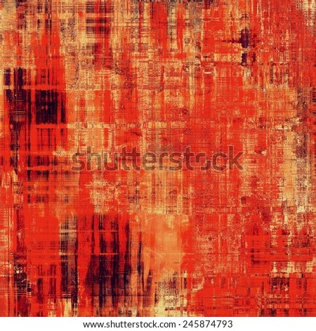 Abstract background or texture. With different color patterns: yellow (beige); brown; red (orange) - stock photo