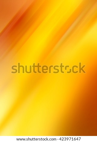 Abstract background representing speed, motion and burst of colors and light in yellow, orange, brown and golden colors. - stock photo