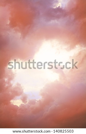 abstract background, sky - stock photo