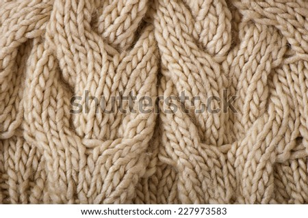 abstract background texture of a knitted fabric - stock photo