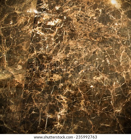 Abstract background texture of an old natural luxury, modern style marble with specks Classic white, light yellow, red, orange, black and dark gray grungy stone of retro wall in lobby, studio interior - stock photo