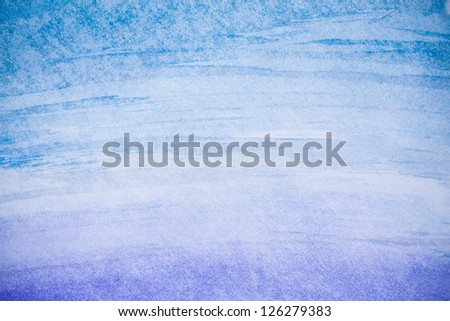 Abstract background, watercolor hand paint blue and purple color - stock photo