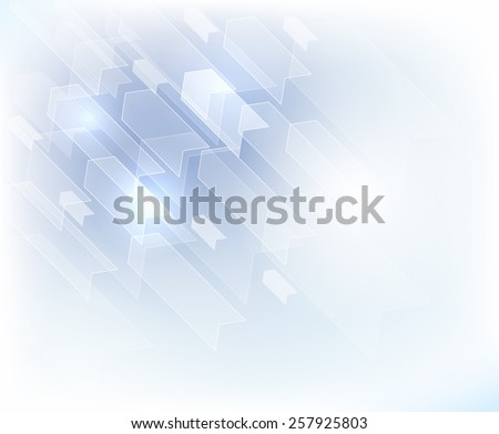 abstract background with arrow - stock photo