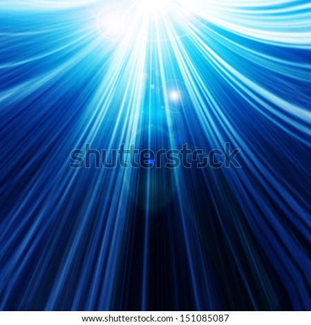 abstract background with beams of light - stock photo