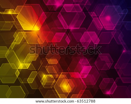 Abstract background with bokeh effect - stock photo
