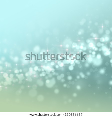 Abstract background with circles and stars - stock photo