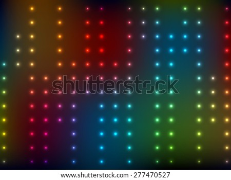 abstract background with color bright lights - stock photo