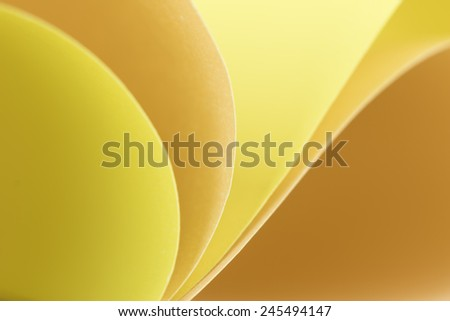 Abstract  background with colored paper. - stock photo