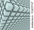 Abstract background with 3d cubes - stock photo