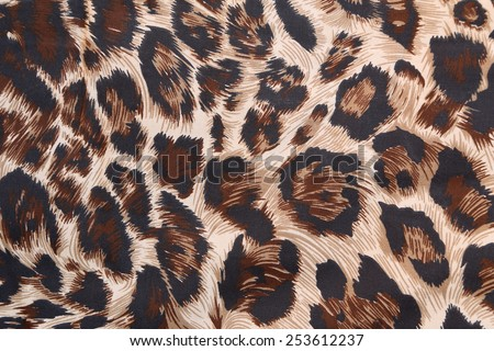 abstract background with leopard texture - stock photo