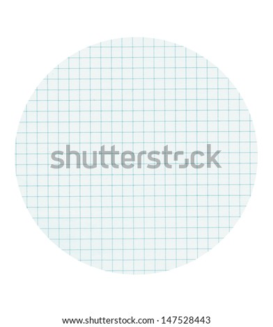 Abstract background with math paper - stock photo