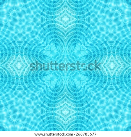 Abstract background with pattern from water ripples - stock photo