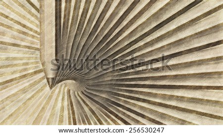 Abstract background with pencils. 3d render with paint effect. - stock photo