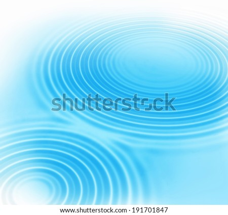 Abstract background with radial water ripples - stock photo