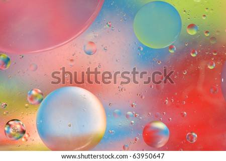 Abstract Background with soothing mix of complementary colors. Entirely captured  in camera - not Photoshop or render! You will love this high quality photograph! - stock photo