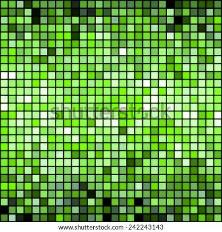 Abstract background with squares pattern - stock photo