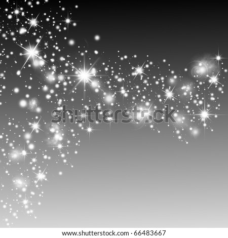 Abstract background with stars. Holiday background - stock photo