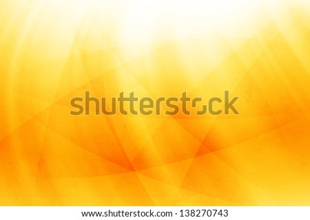 Abstract background - yellow color - stock photo