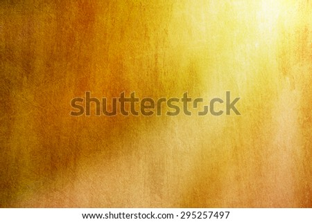 abstract background, yellow color - stock photo