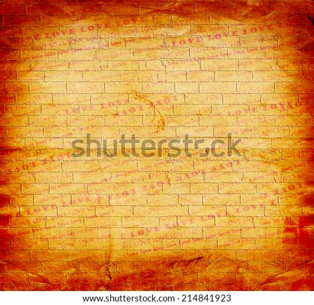 Abstract beautiful background in the style of mixed media - stock photo