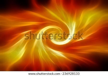 Abstract beautiful orange elegant background - stock photo