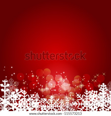 Abstract beauty Christmas and New Year background. Raster version - stock photo