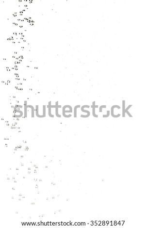 Abstract big drops of water on a white background. Sputtering water particle. Drip irrigation. Texture of water. Elements of design. Shower. Watering. Spray droplets. - stock photo