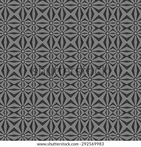 Abstract black and white Background, seamless pattern. Seamless pattern can be used for wallpaper, pattern fills, web page background, surface textures. - stock photo